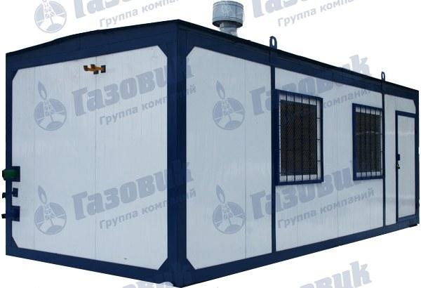 объемы потребления газа газомодульной котельной