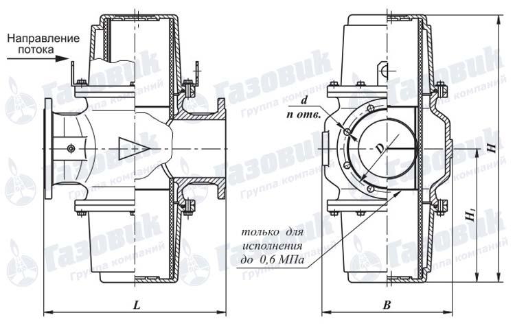 Газовый Фильтр ФН 4-6 м ФЛ
