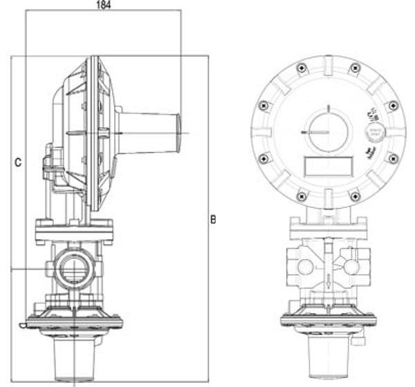 Регулятор давления газа серии Dival 500