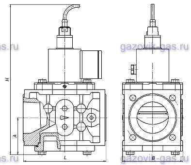 Клапан ВН2Н-1Е ФЛ.