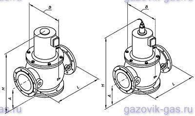 Клапана электромагнитный ВН 6Н-1 (Чугун)