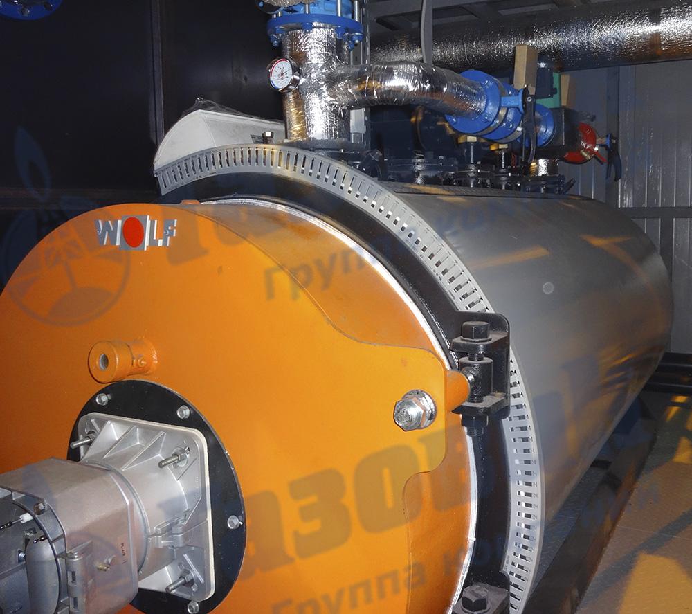 Транспортабельная котельная установка мощностью 1000 кВт