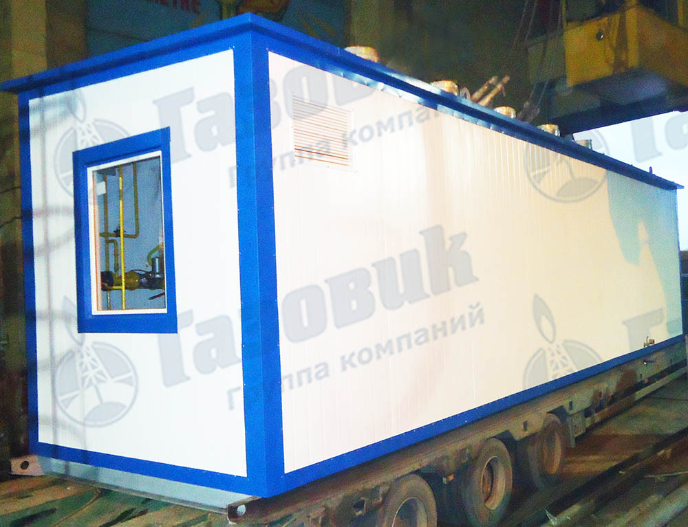 Блочно-модульная транспортабельная котельная