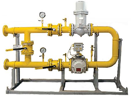 обслуживание узла учета расхода газа