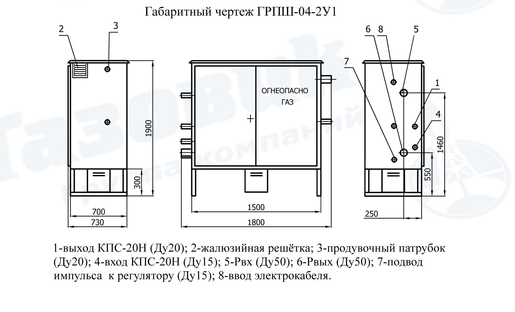грпш 05-2у1 чертеж