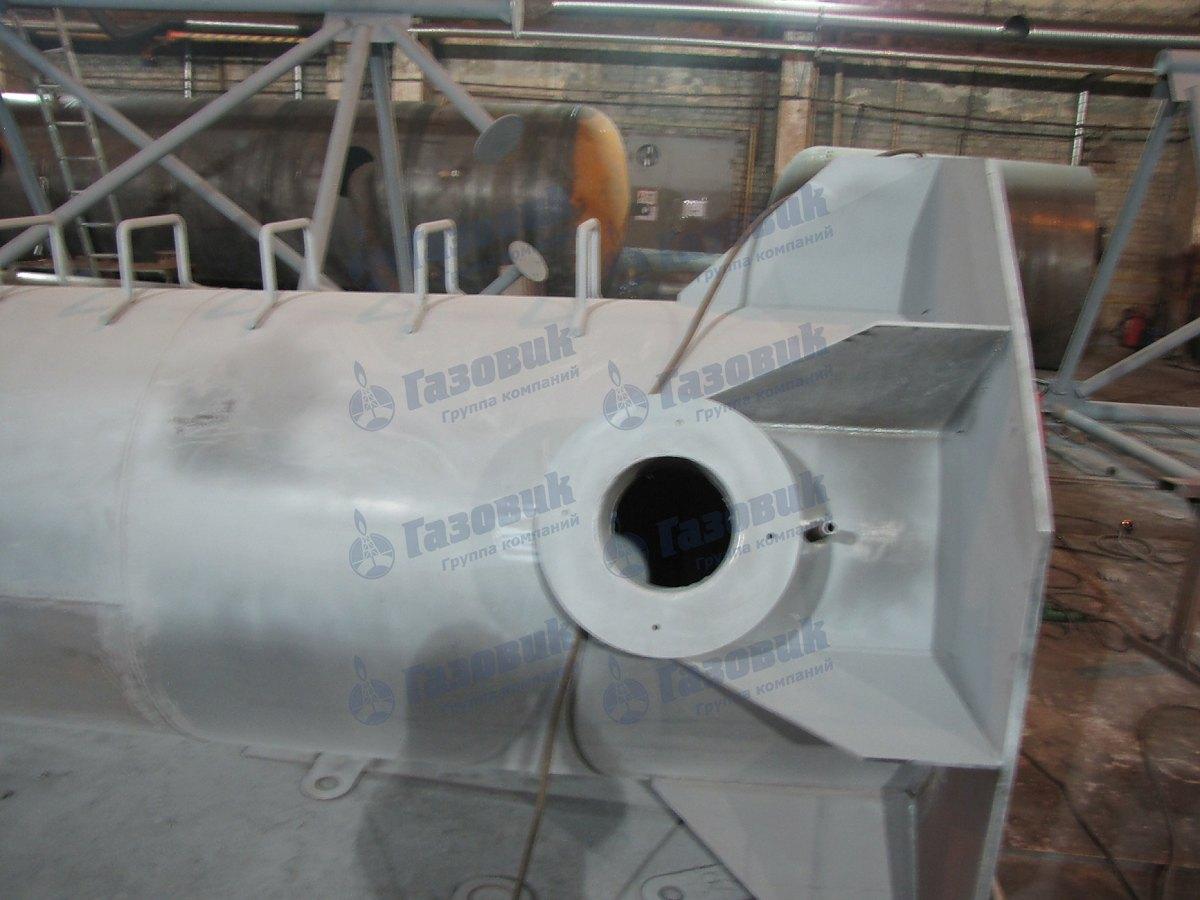 Изготовление дымовых труб на производственной базе ГК Газовик