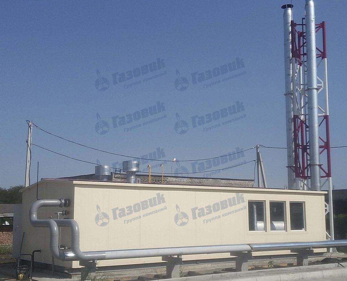 Проектирование, изготовление и монтаж газовой котельной установки ТКУ-2920 кВт